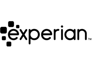the logo for experian